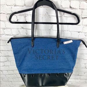 💙New Exclusive Victoria Secret Denim Tote💙